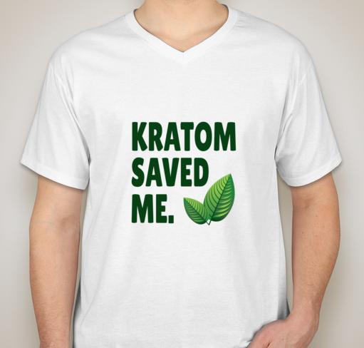 Kratom Saved Me T-Shirt