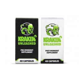 Kraken Unleashed - Pre and Post Workout Combo Pack