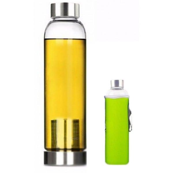 Tea Infuser Bottle With Nylon Sleeve - 22 oz