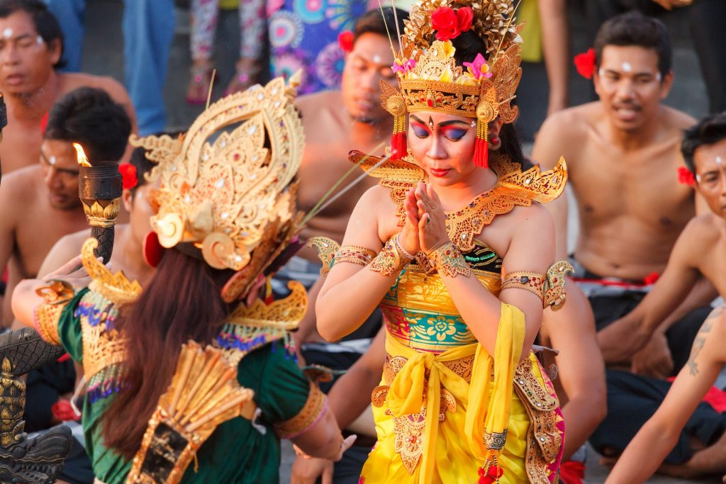 Indonesia Bali Traditional Dance