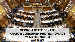 Georgia Legislature Kratom