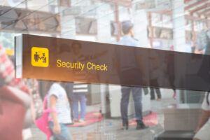 airport TSA security check