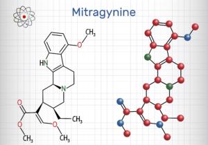 mitragynine molecule diagram